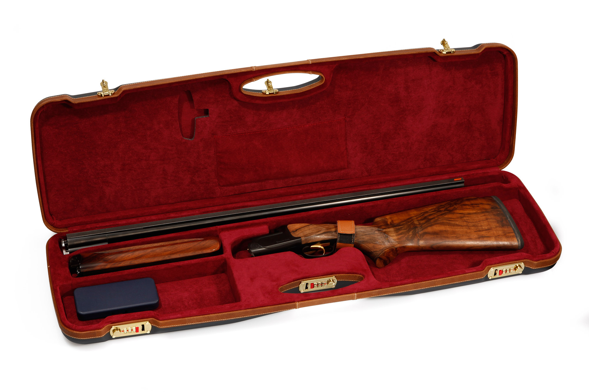 NEW! Negrini KRIEGHOFF Style Case For Sporting & Trap -- Single High or Low Rib
