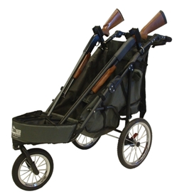Rugged Gear 2-Gun Shooting Cart Combo