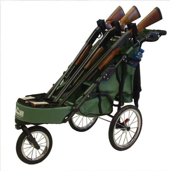 Rugged Gear Rugged Gear 3 Gun Shooting Cart Combo