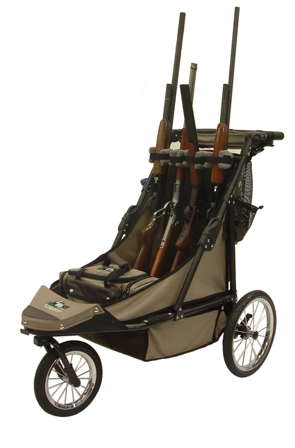 Rugged Gear Deluxe 4 Gun Cart Combo Package