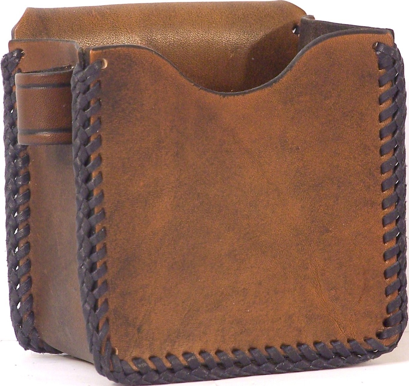 Shamrock Leathers 1-Box Carrier Leather shotshell box holder, 1-box carrier