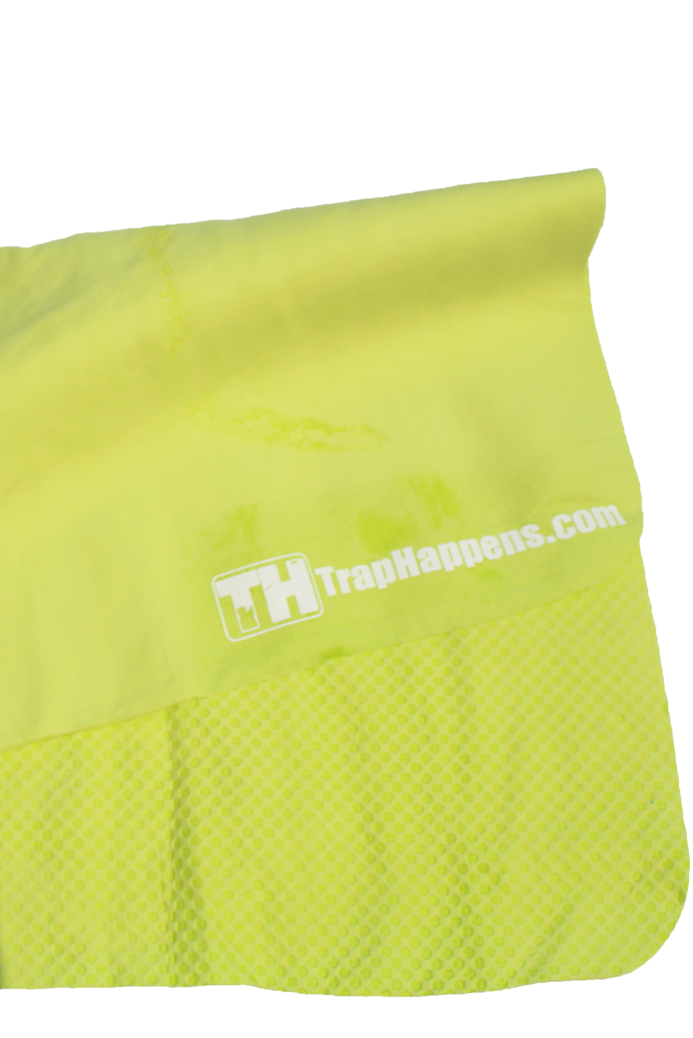 Trap Happens Cooling Towel Neon Green