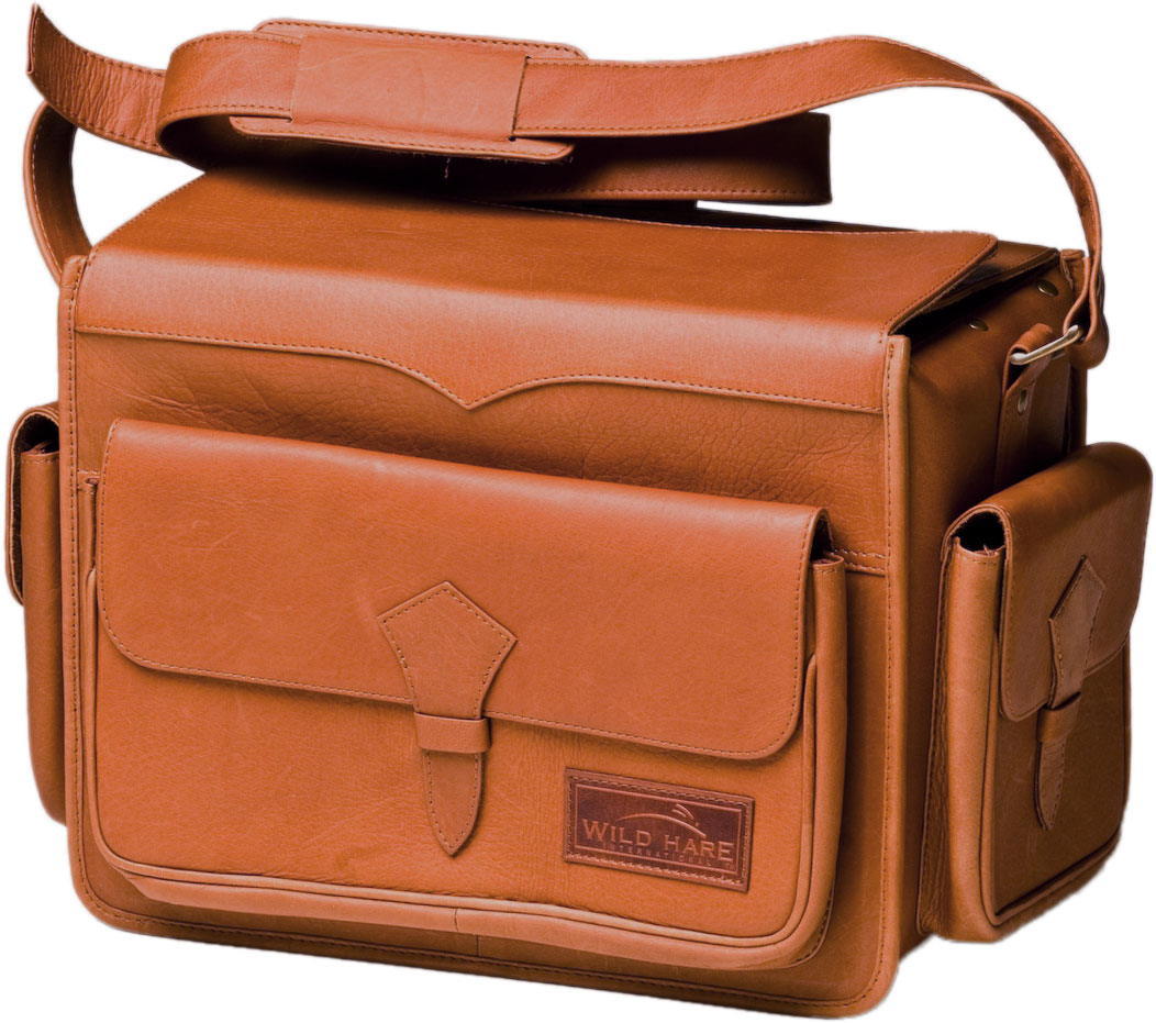Wild Hare Leather Range Bag