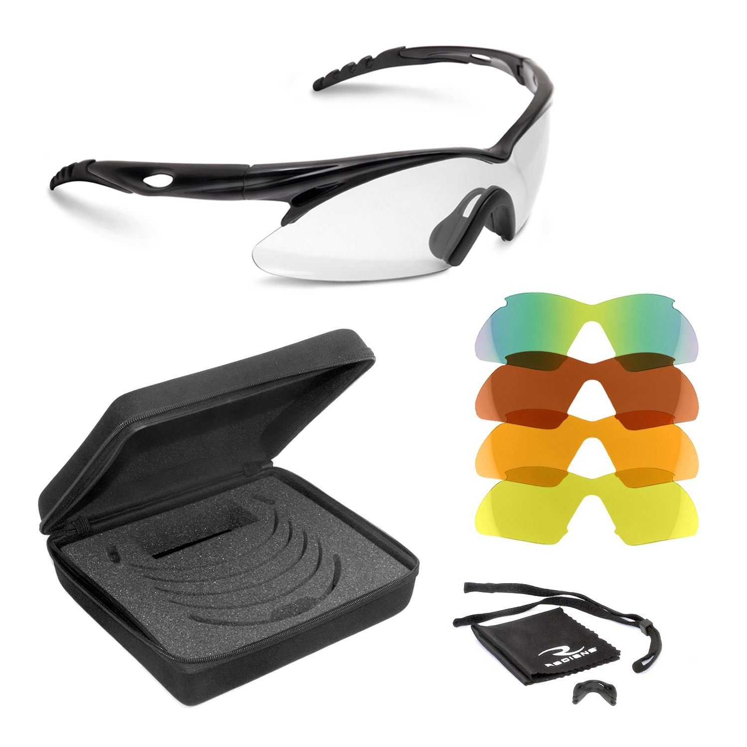Radians SHIFT™ Shooting Glass Kit Trap Shooting glasses, shooting glasses, Shift glasses, Radians Shift, Radians, Shift, interchangeable lens kit for shooting glasses