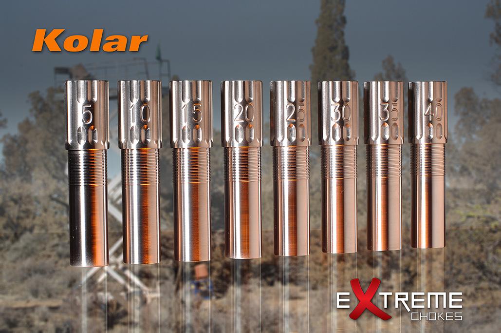 Extreme Chokes LLC - Extreme Chokes 12 Gauge Kolar Titanium