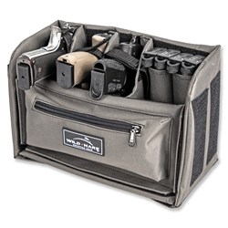 NEW Wild Hare Pistol Organizer Kit - Grey handgun, pistol, carrier, divider backpack, pistol backpack, modular