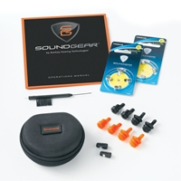 SoundGear In-The-Canal Electronic Hearing Protection-PAIR Soundgear, Electronic hearing protection, Electronic ear plugs, ear plugs, sport ear, shooting safety, ear protection, electronic ear protection