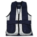 Wild Hare Primer Mesh Vest, Navy/Silver - Ambidextrous Shooting Pad - WH-421-NV-L